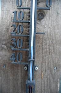 Температура воздуха в день заездов