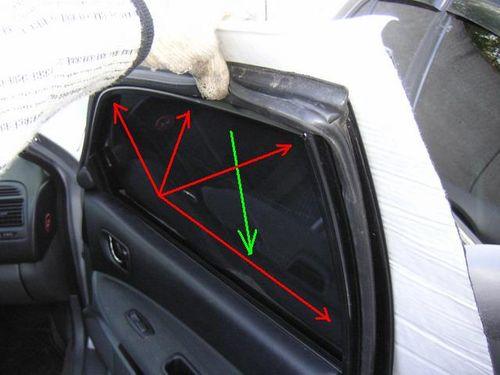 Шумоизоляция стекол в машине