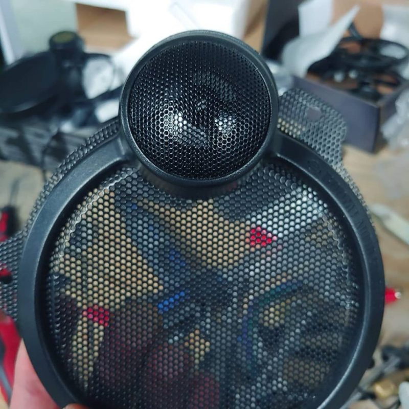 Harley Davidson speakers upgrade