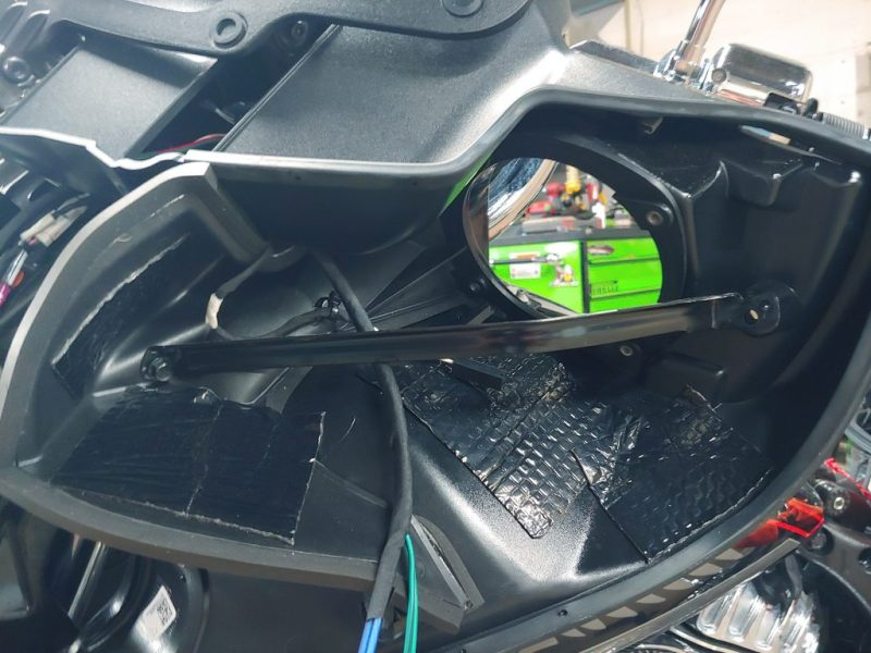 Indian Roadmaster Chieftain audio upgrade