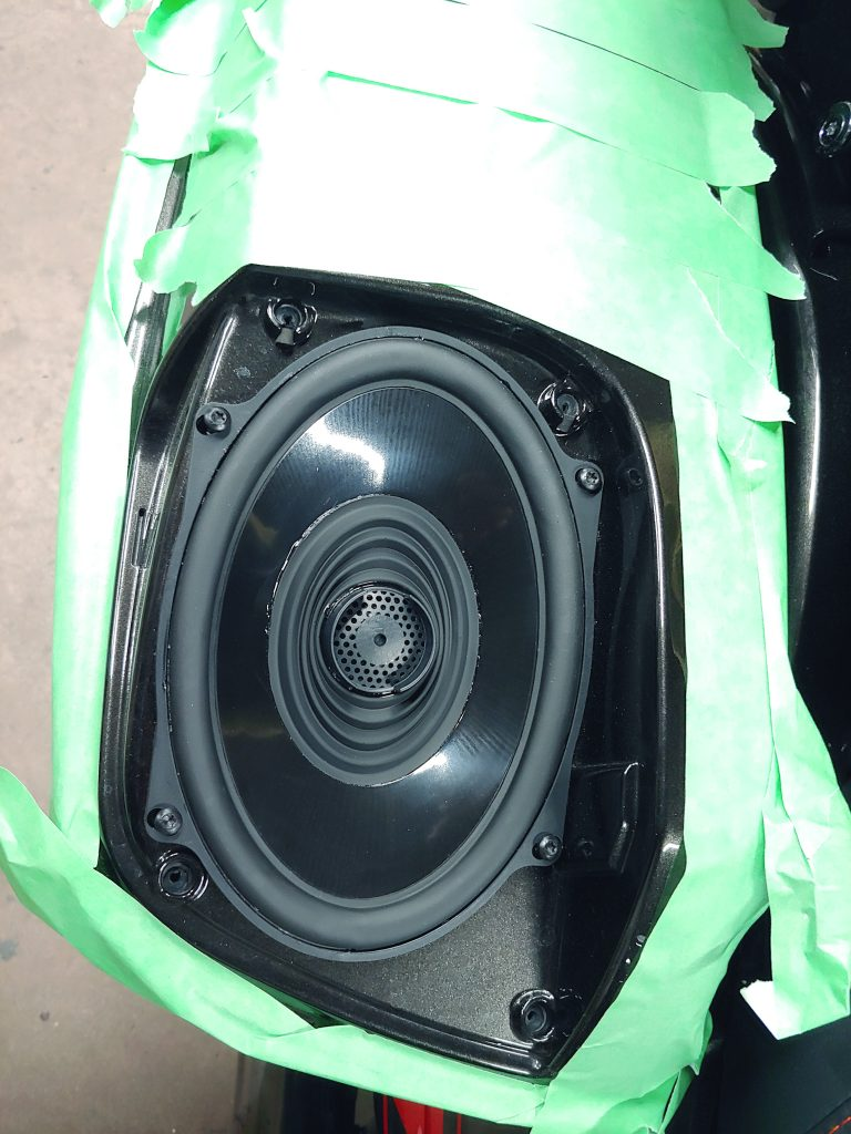 Harley Davidson Rockford Fosgate speakers
