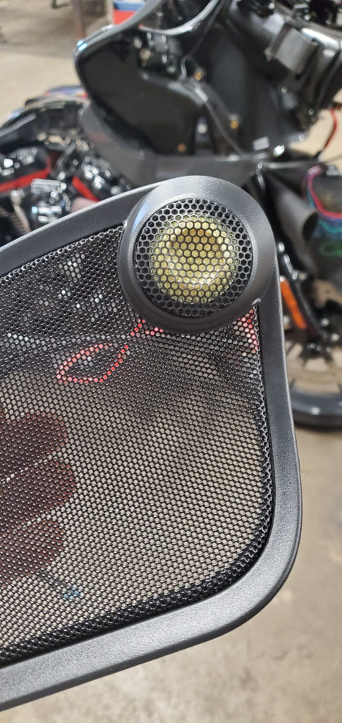 Динамики на мотоцикл Harley Davidson