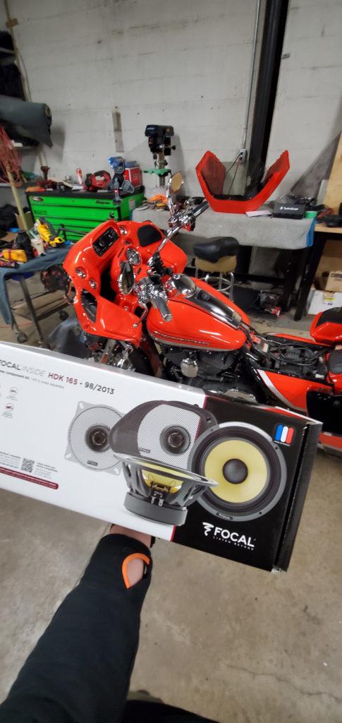 Акустика для мотоцикла Focal HDK165-98/2013