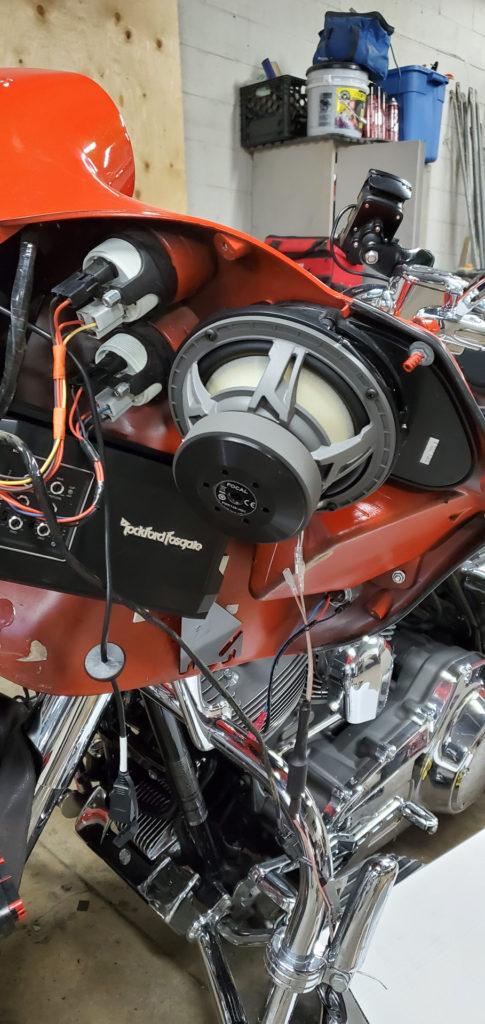 Динамики для мотоцикла