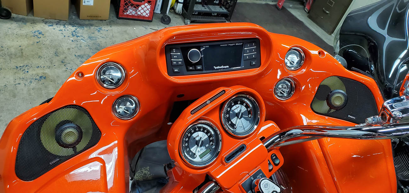 Музыкальная система для Harley Davidson