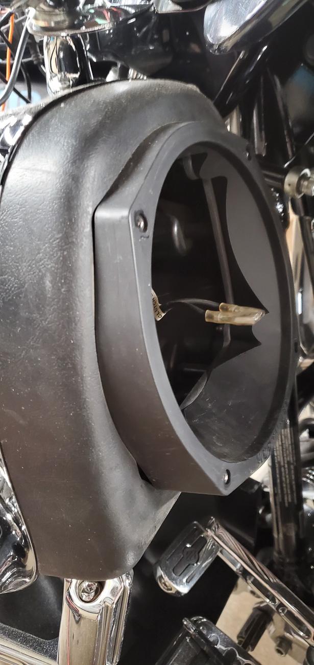 Акустика в валенки на мотоцикл