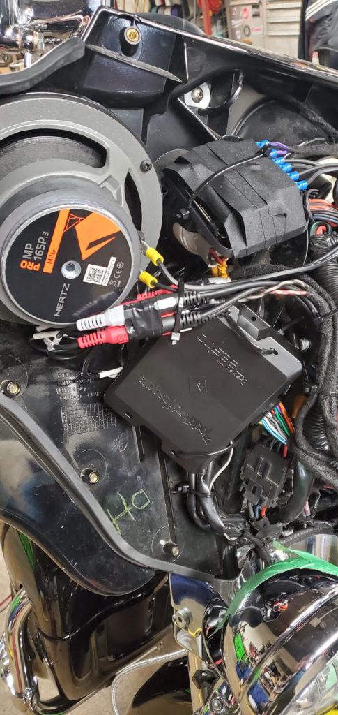Процессор DSR1 для мотоцикла