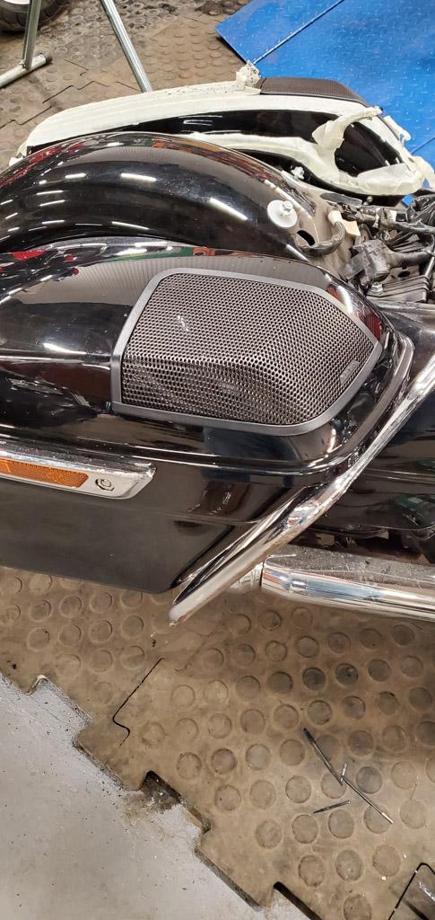 Задние динамики Harley- Davidson